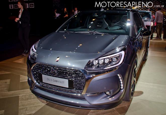 DS 3 Cabriolet en el Salon del Automovil de Buenos Aires 2017