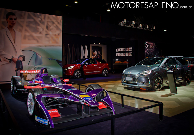 DS Virgin Racing de Formula E en el Salon del Automovil de Buenos Aires 2017