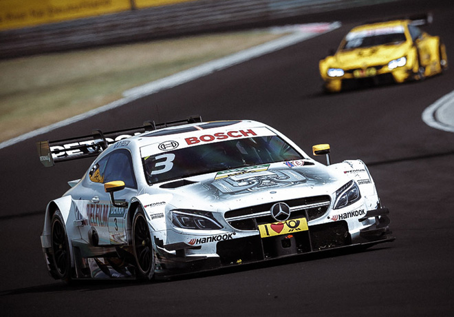 DTM - Hungaroring 2017 - Carrera 1 - Paul Di Resta - Mercedes-AMG C63 DTM