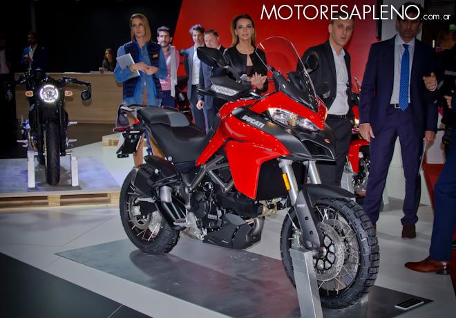 Ducati Multistrada 950 en el Salon del Automovil de Buenos Aires 2017 2