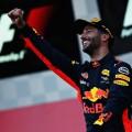 F1 - Azerbaiyan 2017 - Carrera - Daniel Ricciardo en el Podio