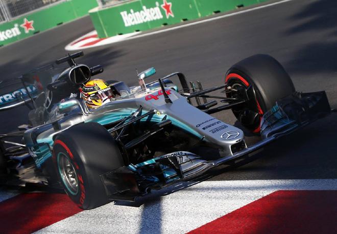 GP de Azerbaiyán de Fórmula 1 – Clasificación: Pole Position de Hamilton, la número 66, y queda a sólo dos del récord absoluto de Michael Schumacher.