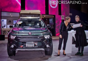 Fiat Toro Mopar Expedition en el Salon del Automovil de Buenos Aires 2017