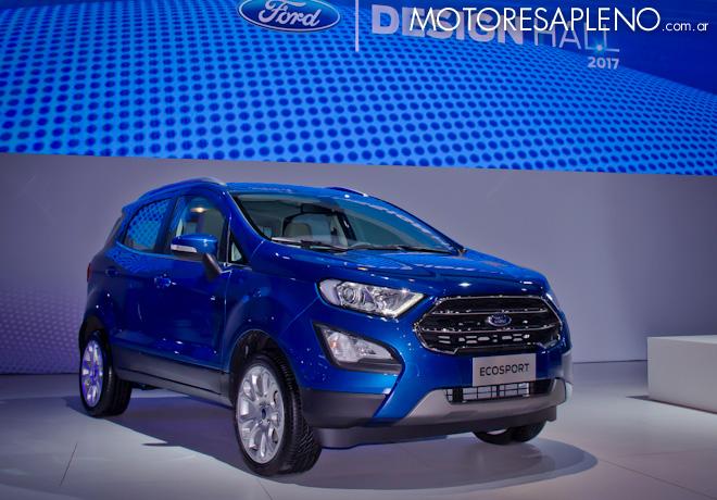 Ford EcoSport en el Salon del Automovil de Buenos Aires 2017