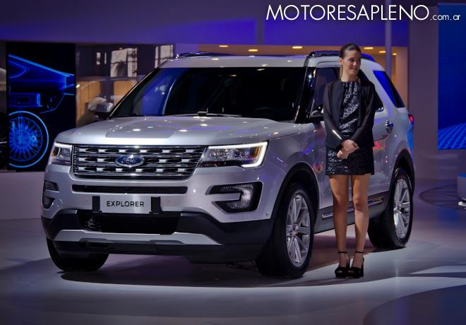 Ford Explorer en el Salon del Automovil de Buenos Aires 2017