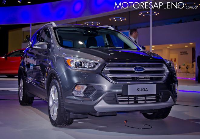 Ford Kuga en el Salon del Automovil de Buenos Aires 2017