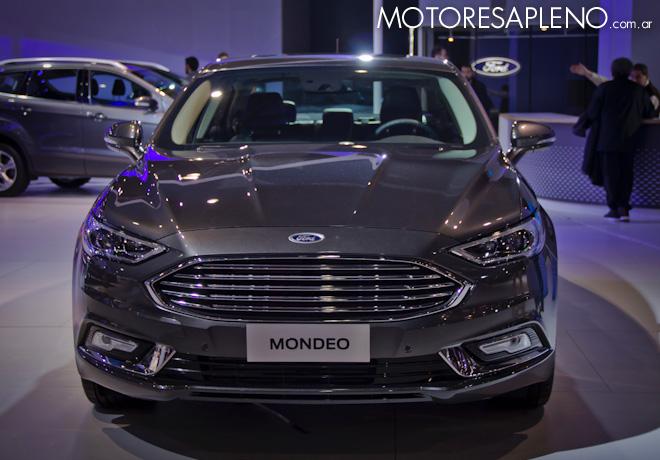 Ford Mondeo en el Salon del Automovil de Buenos Aires 2017