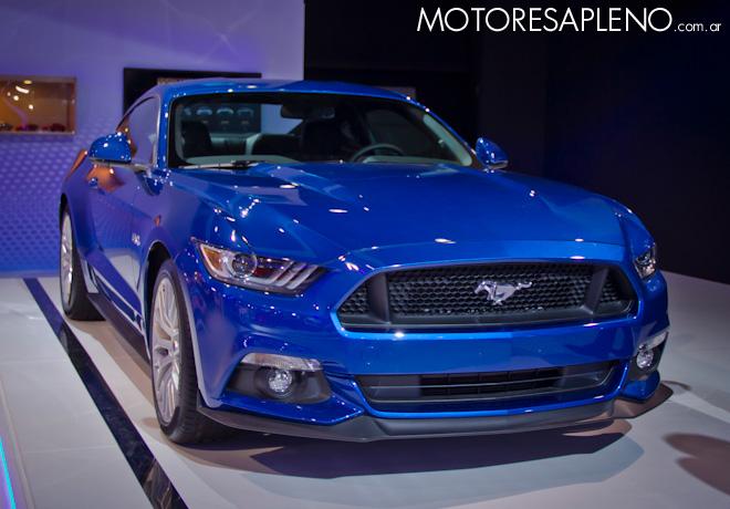 Ford Mustang en el Salon del Automovil de Buenos Aires 2017