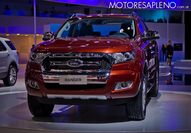 Ford Ranger en el Salon del Automovil de Buenos Aires 2017