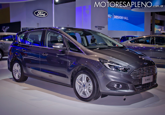 Ford S-Max en el Salon del Automovil de Buenos Aires 2017