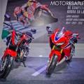 Honda CB500F y CBR1000RR en el Salon del Automovil de Buenos Aires 2017