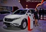 Honda CR-V en el Salon del Automovil de Buenos Aires 2017