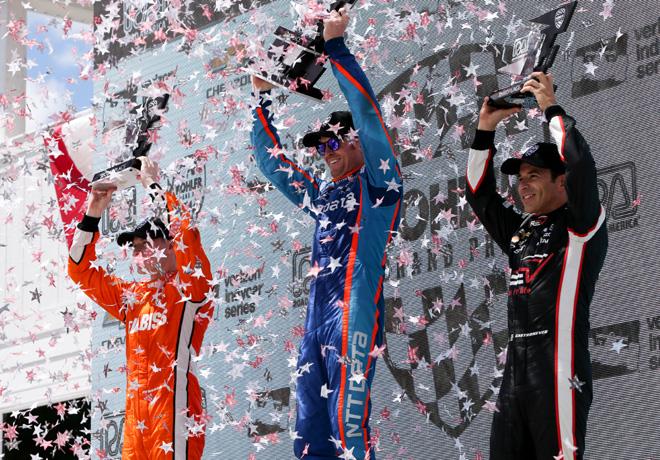 IndyCar Series en Road America – Carrera: Dixon logra su primera victoria en Elkhart Lake.