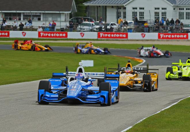 IndyCar - Road America 2017 - Carrera - Scott Dixon