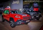 Jeep Cherokee y Grand Cherokee en el Salon del Automovil de Buenos Aires 2017