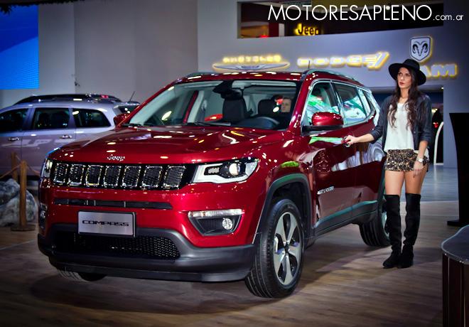 Jeep Compass Longitude en el Salon del Automovil de Buenos Aires 2017