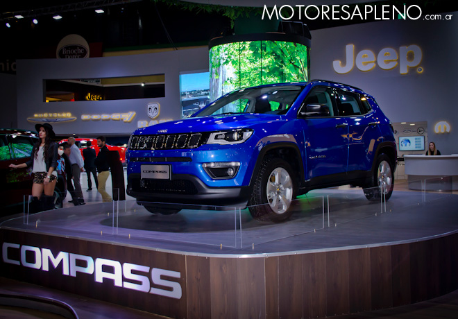 Jeep Compass Sport en el Salon del Automovil de Buenos Aires 2017