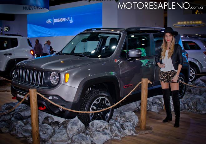 Jeep Renegade en el Salon del Automovil de Buenos Aires 2017