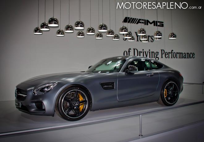Mercedes-Benz AMG GT S en el Salon del Automovil de Buenos Aires 2017