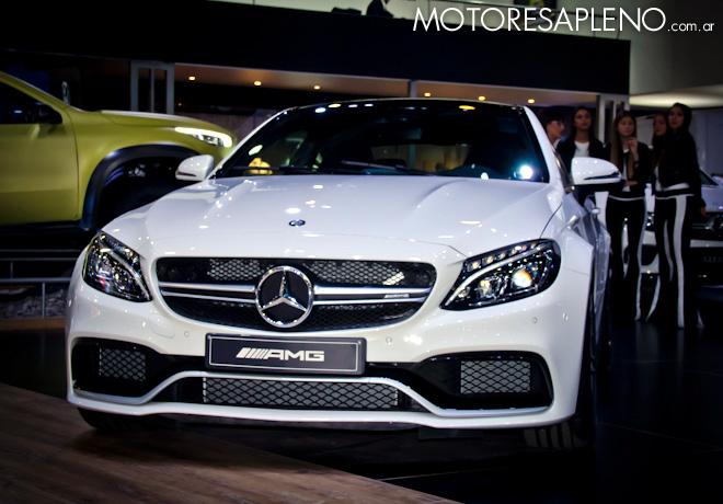 Mercedes-Benz C63s Coupe AMG en el Salon del Automovil de Buenos Aires 2017
