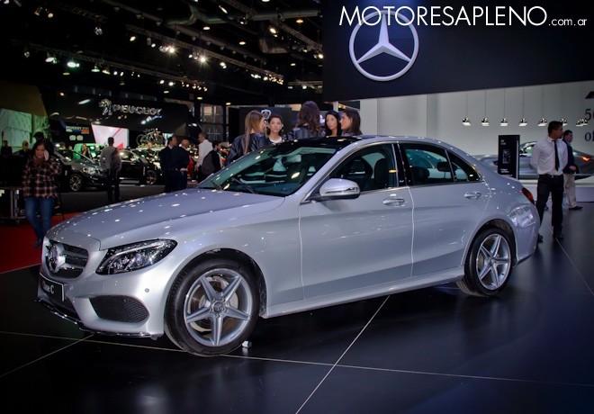 Mercedes-Benz Clase C en el Salon del Automovil de Buenos Aires 2017