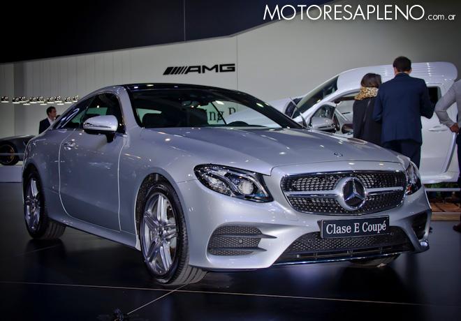 Mercedes-Benz Clase E Coupe en el Salon del Automovil de Buenos Aires 2017