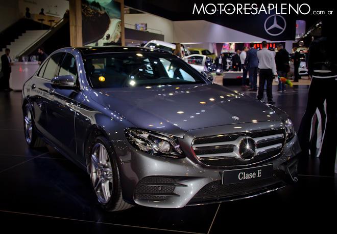 Mercedes-Benz Clase E en el Salon del Automovil de Buenos Aires 2017