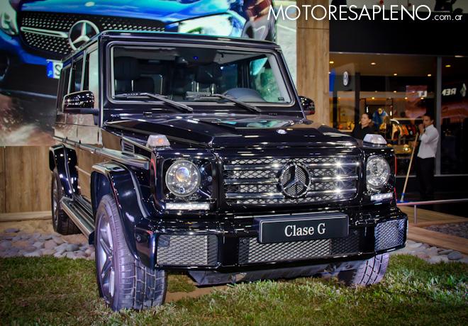 Mercedes-Benz Clase G en el Salon del Automovil de Buenos Aires 2017