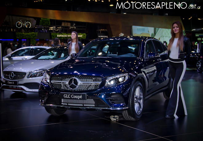 Mercedes-Benz GLC Coupe en el Salon del Automovil de Buenos Aires 2017