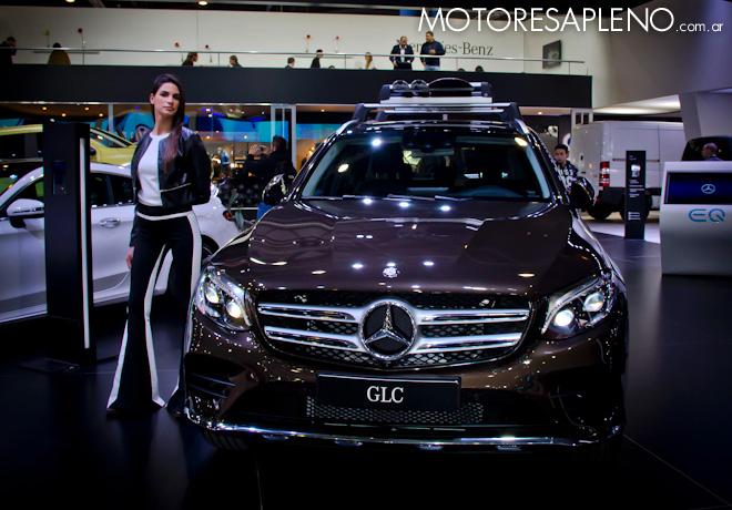 Mercedes-Benz GLC en el Salon del Automovil de Buenos Aires 2017