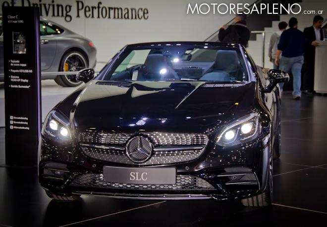 Mercedes-Benz SLC en el Salon del Automovil de Buenos Aires 2017