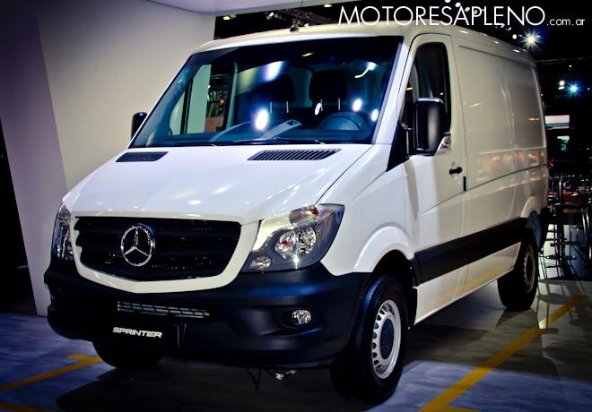 Mercedes-Benz Sprinter en el Salon del Automovil de Buenos Aires 2017