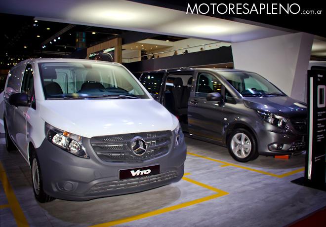 Mercedes-Benz Vito en el Salon del Automovil de Buenos Aires 2017