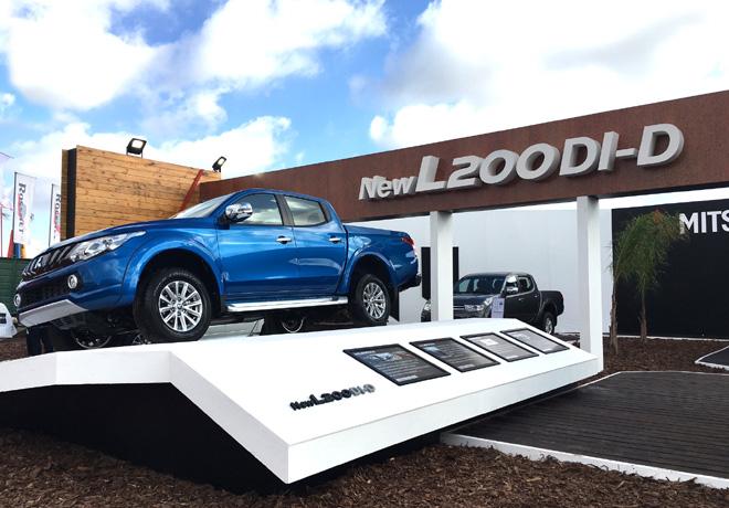 Mitsubishi en Agroactiva 2017