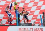 MotoGP - Assen 2017 - Danilo Petrucci - Valentino Rossi - Marc Marquez en el Podio