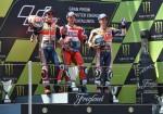 MotoGP - Catalunya 2017 - Marc Marquez - Andrea Dovizioso - Dani Pedrosa en el Podio