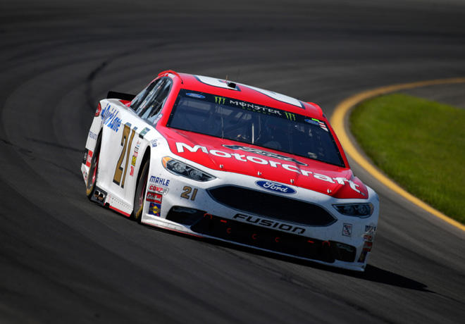 NASCAR - Pocono 2017 - Ryan Blaney - Ford Fusion