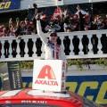 NASCAR - Pocono 2017 - Ryan Blaney en el Victory Lane