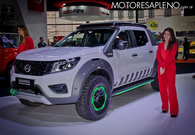 Nissan EnGuard Concept en el Salon del Automovil de Buenos Aires 2017