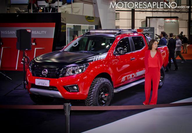 Nissan Frontier Attack Concept en el Salon del Automovil de Buenos Aires 2017