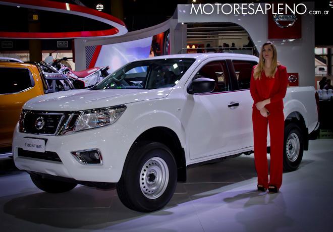 Nissan Frontier en el Salon del Automovil de Buenos Aires 2017