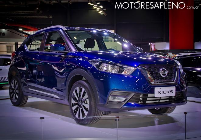 Nissan Kicks en el Salon del Automovil de Buenos Aires 2017