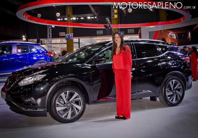 Nissan Murano en el Salon del Automovil de Buenos Aires 2017