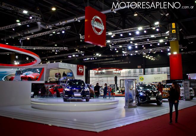 Nissan en el Salon del Automovil de Buenos Aires 2017