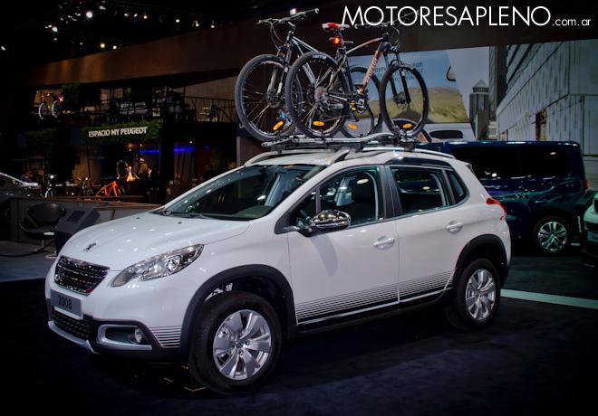 Peugeot 2008 en el Salon del Automovil de Buenos Aires 2017