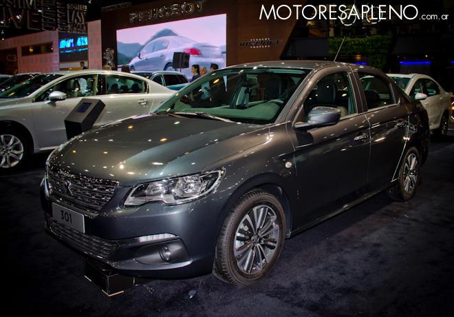 Peugeot 301 en el Salon del Automovil de Buenos Aires 2017
