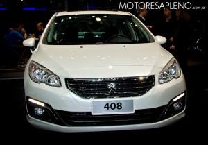 Peugeot 408 en el Salon del Automovil de Buenos Aires 2017