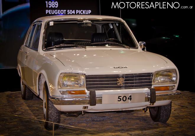 Peugeot 504 en el Salon del Automovil de Buenos Aires 2017