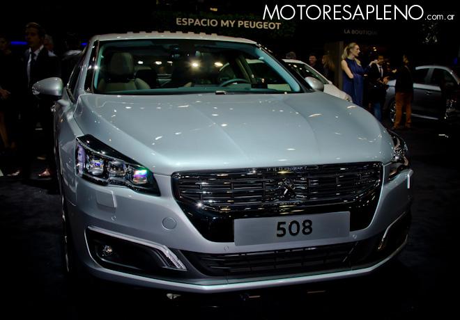 Peugeot 508 en el Salon del Automovil de Buenos Aires 2017