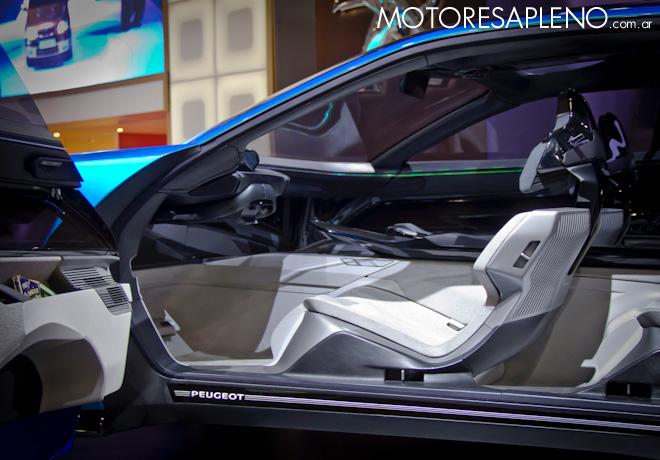 Peugeot Instinct Concept Car en el Salon del Automovil de Buenos Aires 2017 2
